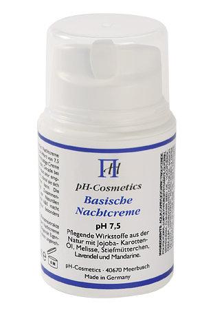 pH Cosmetics - Basische Nachtcreme pH 7,5 (50ml)