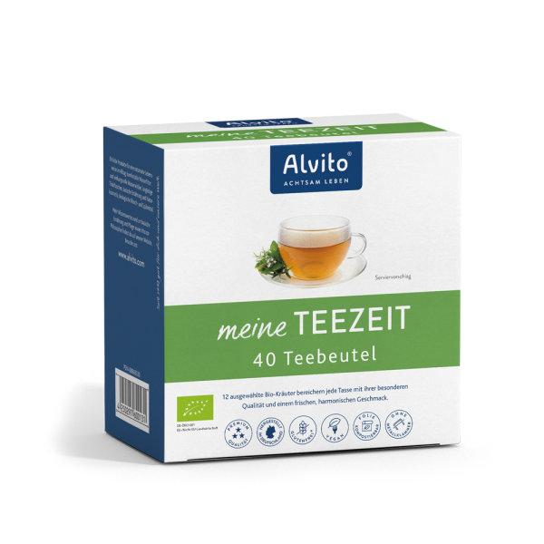 Alvito - meine TeeZeit BIO 40 Teebeutel (80g)