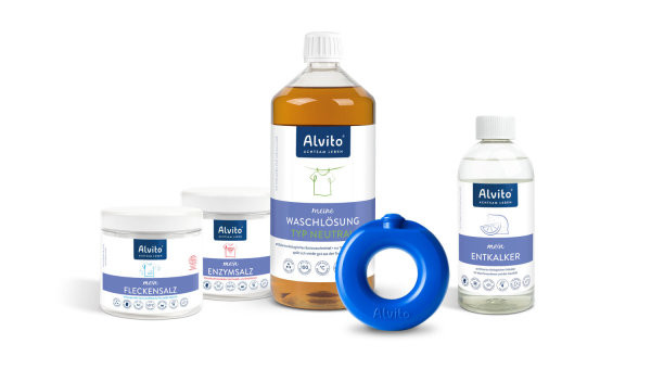 Alvito - WaschSystem Komplettset Orange